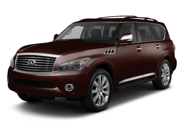 Dark Currant 2012 INFINITI QX56 Pictures QX56 Utility 4D 4WD photos front view