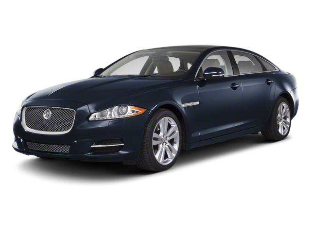 Azurite Blue 2012 Jaguar XJ Pictures XJ Sedan 4D photos front view