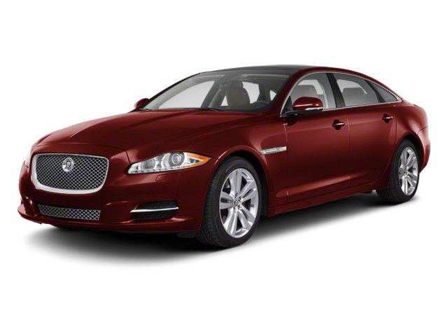 Claret 2012 Jaguar XJ Pictures XJ Sedan 4D photos front view