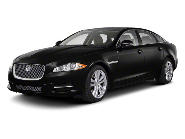 Ebony 2012 Jaguar XJ Pictures XJ Sedan 4D photos front view