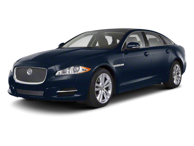 Indigo Blue 2012 Jaguar XJ Pictures XJ Sedan 4D photos front view