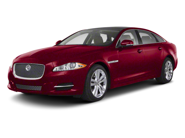 Italian Racing Red 2012 Jaguar XJ Pictures XJ Sedan 4D L photos front view
