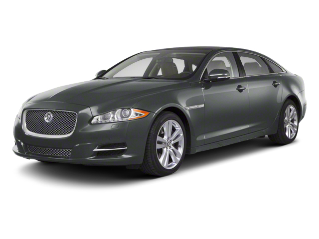 Lunar Grey 2012 Jaguar XJ Pictures XJ Sedan 4D photos front view