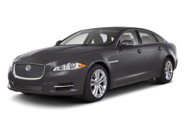 Pearl Grey 2012 Jaguar XJ Pictures XJ Sedan 4D L photos front view