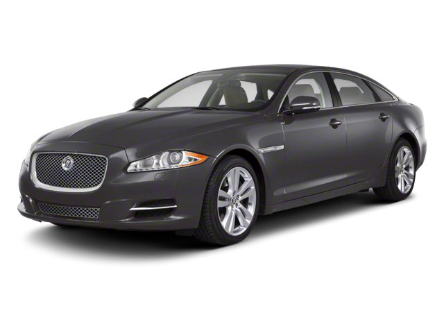 Pearl Grey 2012 Jaguar XJ Pictures XJ Sedan 4D photos front view