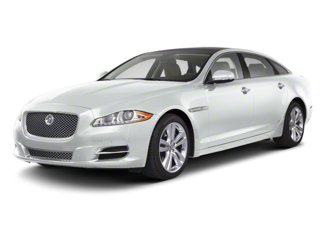 Polaris White 2012 Jaguar XJ Pictures XJ Sedan 4D L photos front view