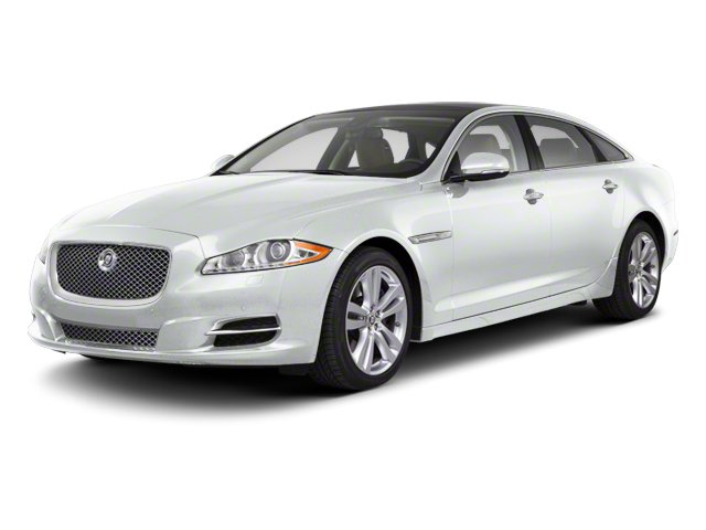 Polaris White 2012 Jaguar XJ Pictures XJ Sedan 4D photos front view