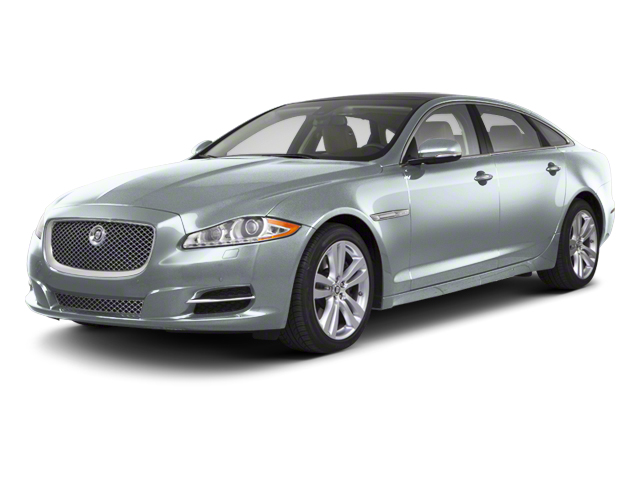 Rhodium Silver 2012 Jaguar XJ Pictures XJ Sedan 4D photos front view