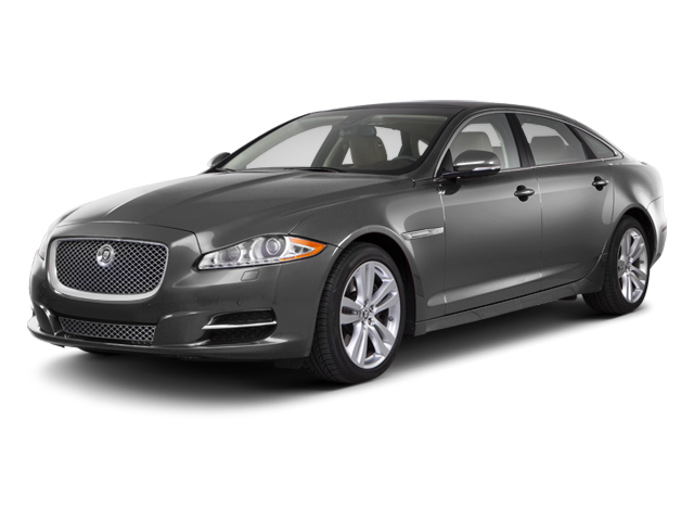 Stratus Grey 2012 Jaguar XJ Pictures XJ Sedan 4D photos front view