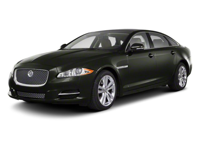 Taiga Green 2012 Jaguar XJ Pictures XJ Sedan 4D photos front view