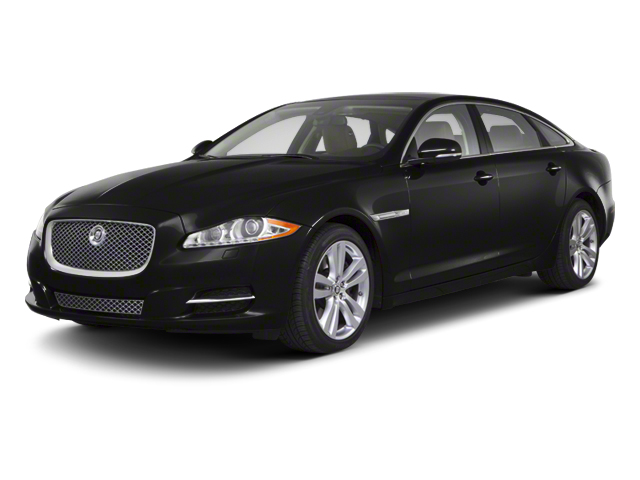 Ultimate Black 2012 Jaguar XJ Pictures XJ Sedan 4D photos front view