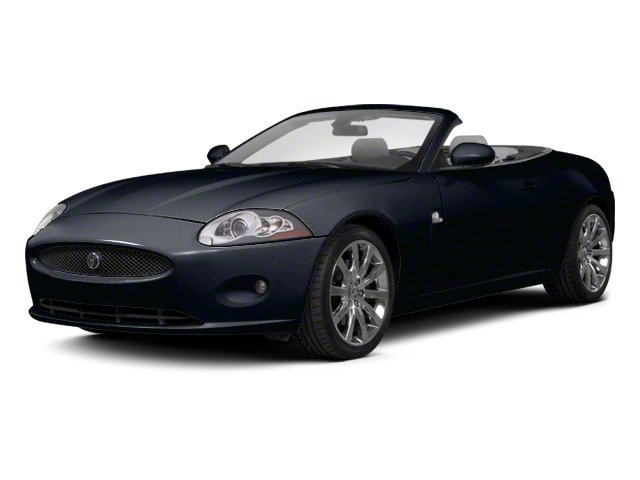 Midnight Black 2012 Jaguar XK Pictures XK Convertible XKR Supercharged photos front view