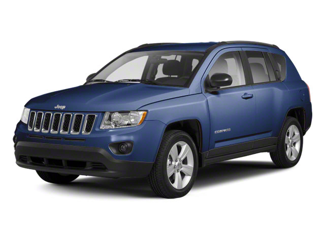 True Blue Pearl 2012 Jeep Compass Pictures Compass Utility 4D Limited 2WD photos front view