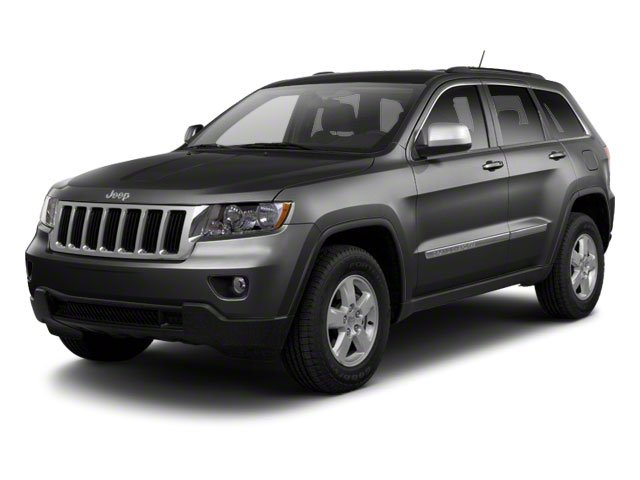 Maximum Steel Metallic 2012 Jeep Grand Cherokee Pictures Grand Cherokee Utility 4D Overland 4WD photos front view