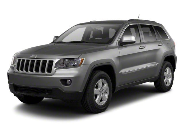 Mineral Gray Metallic 2012 Jeep Grand Cherokee Pictures Grand Cherokee Utility 4D Overland 4WD photos front view