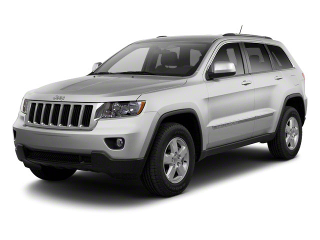 Bright Silver Metallic 2012 Jeep Grand Cherokee Pictures Grand Cherokee Utility 4D Overland 4WD photos front view