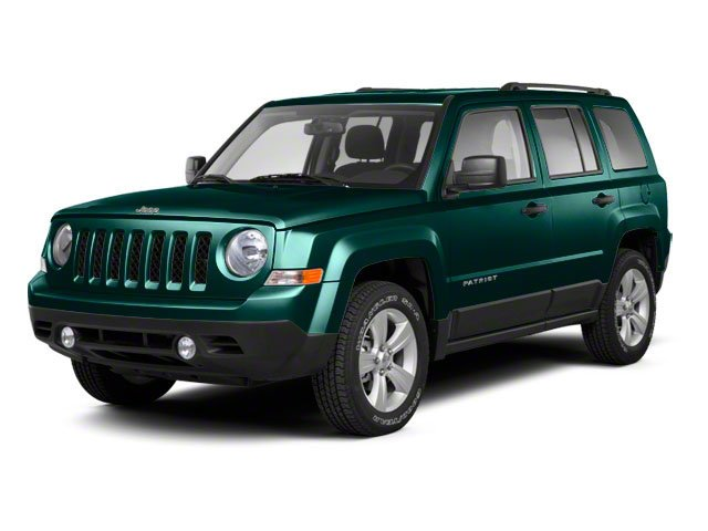Onyx Green Pearl 2012 Jeep Patriot Pictures Patriot Utility 4D Limited 2WD photos front view