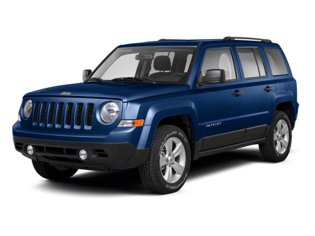 True Blue Pearl 2012 Jeep Patriot Pictures Patriot Utility 4D Limited 2WD photos front view