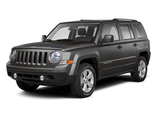 Mineral Gray Metallic 2012 Jeep Patriot Pictures Patriot Utility 4D Limited 2WD photos front view