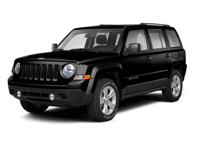 Black 2012 Jeep Patriot Pictures Patriot Utility 4D Limited 2WD photos front view