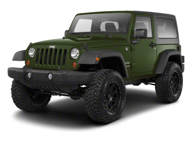 Natural Green Pearl 2012 Jeep Wrangler Pictures Wrangler Utility 2D Sport 4WD photos front view