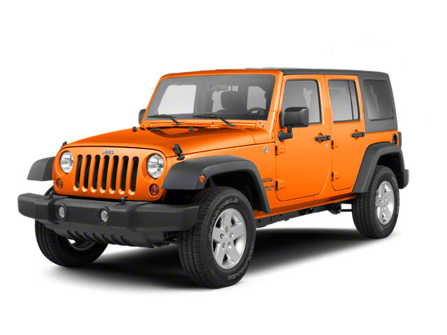 Crush 2012 Jeep Wrangler Unlimited Pictures Wrangler Unlimited Utility 4D Unlimited Sport 4WD photos front view