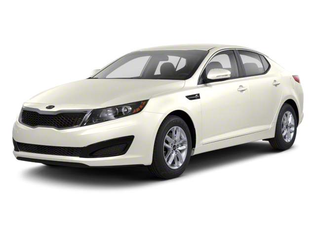 Snow White Pearl 2012 Kia Optima Pictures Optima Sedan 4D LX photos front view