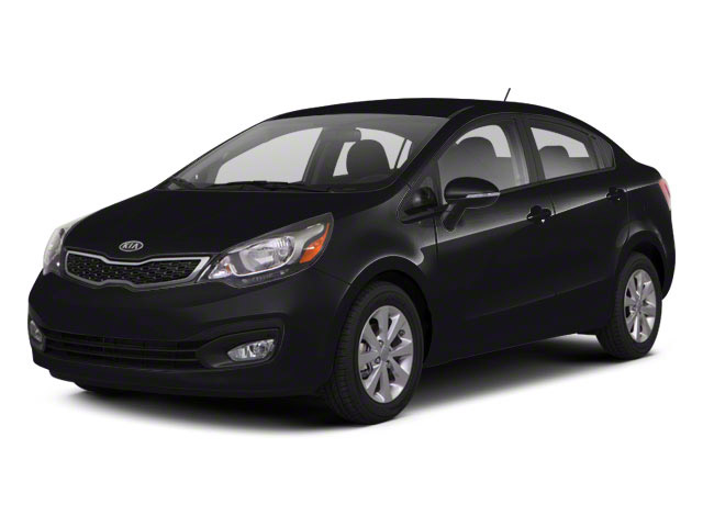 Aurora Black Pearl 2012 Kia Rio Pictures Rio Sedan 4D LX photos front view