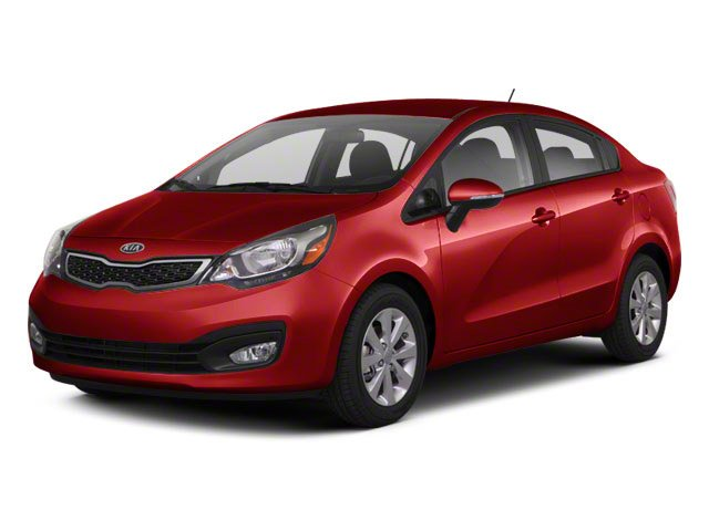 Signal Red 2012 Kia Rio Pictures Rio Sedan 4D LX photos front view