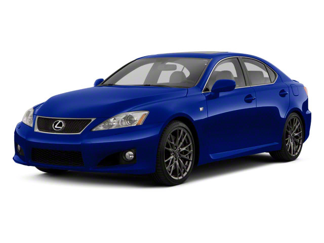 Ultrasonic Blue Mica 2012 Lexus IS F Pictures IS F Sedan 4D IS-F photos front view