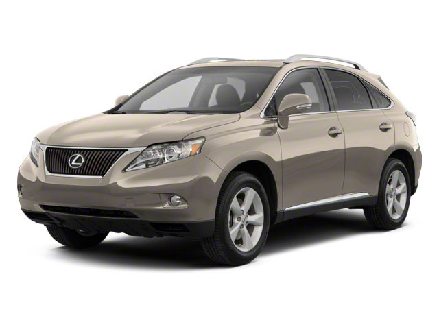 Satin Cashmere Metallic 2012 Lexus RX 350 Pictures RX 350 Utility 4D 2WD photos front view