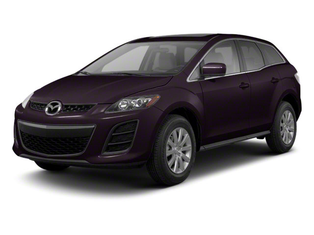 Black Cherry Mica 2012 Mazda CX-7 Pictures CX-7 Wagon 4D s Touring AWD photos front view