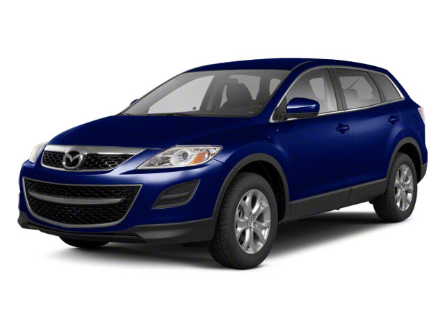Stormy Blue Mica 2012 Mazda CX-9 Pictures CX-9 Utility 4D GT 2WD photos front view