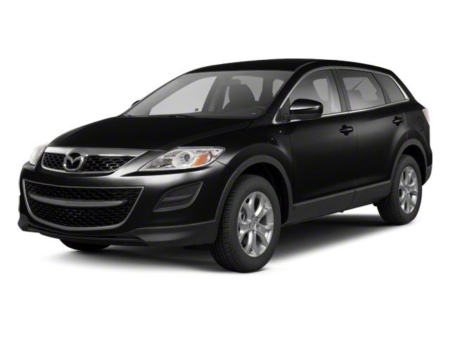 Brilliant Black 2012 Mazda CX-9 Pictures CX-9 Utility 4D Sport AWD photos front view