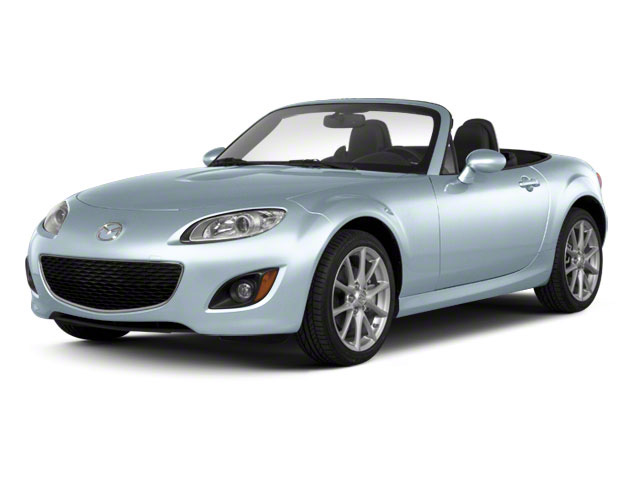 Liquid Silver Metallic 2012 Mazda MX-5 Miata Pictures MX-5 Miata Hardtop 2D Touring photos front view