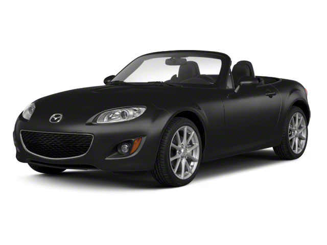 Brilliant Black 2012 Mazda MX-5 Miata Pictures MX-5 Miata Hardtop 2D Touring photos front view