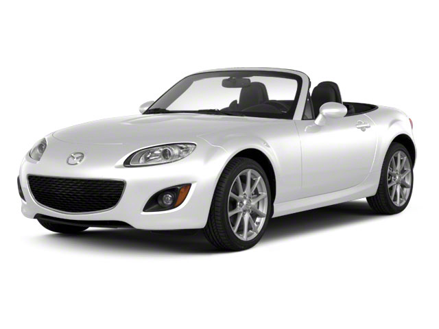 Crystal White Pearl Mica 2012 Mazda MX-5 Miata Pictures MX-5 Miata Convertible 2D Sport photos front view