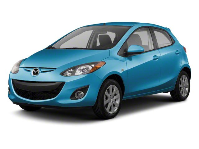 Aquatic Blue Mica 2012 Mazda Mazda2 Pictures Mazda2 Hatchback 5D photos front view