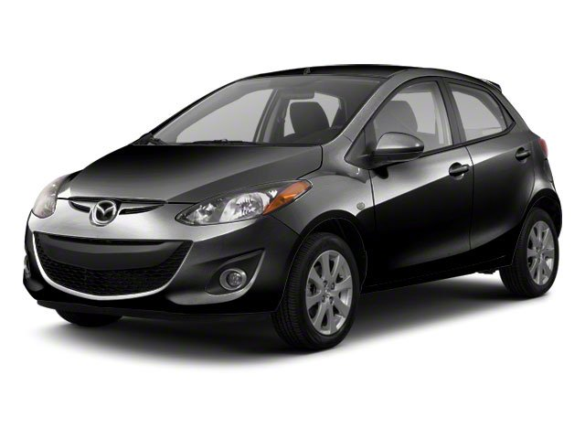 Brilliant Black 2012 Mazda Mazda2 Pictures Mazda2 Hatchback 5D photos front view