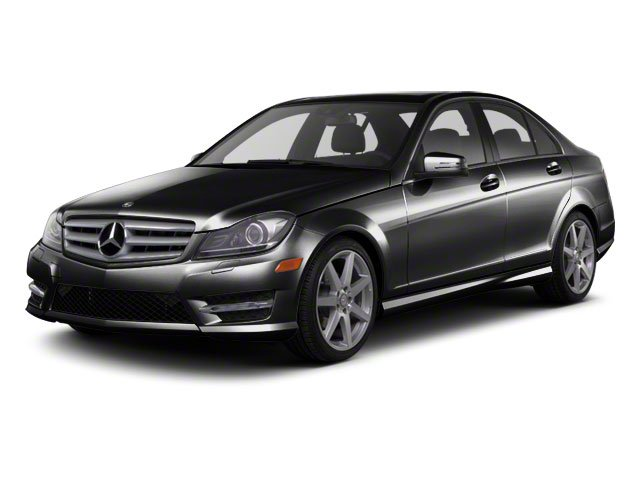 Magnetite Black Metallic 2012 Mercedes-Benz C-Class Pictures C-Class Sedan 4D C63 AMG photos front view