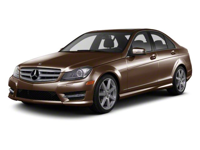 Cuprite Brown Metallic 2012 Mercedes-Benz C-Class Pictures C-Class Sedan 4D C63 AMG photos front view