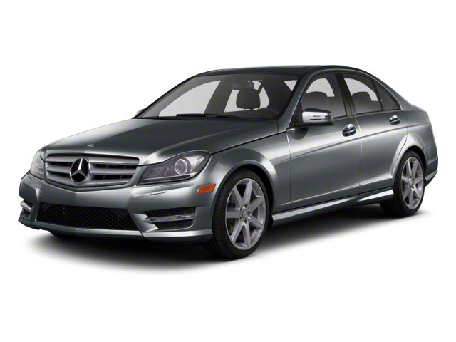 Sapphire Grey Metallic 2012 Mercedes-Benz C-Class Pictures C-Class Sedan 4D C63 AMG photos front view