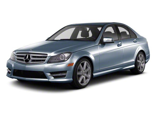Lunar Blue Metallic 2012 Mercedes-Benz C-Class Pictures C-Class Sedan 4D C63 AMG photos front view