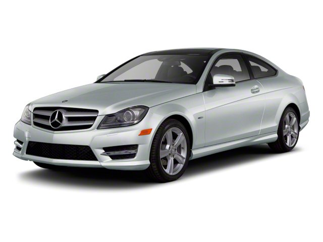 designo Magno Alanite Matte Grey 2012 Mercedes-Benz C-Class Pictures C-Class Coupe 2D C63 AMG photos front view