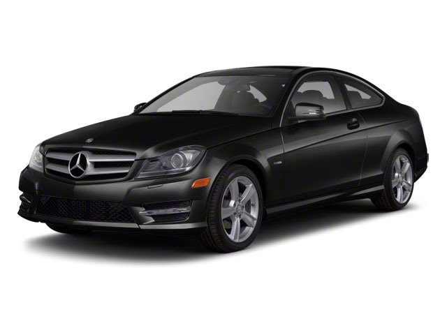 designo Magno Night Matte Black 2012 Mercedes-Benz C-Class Pictures C-Class Coupe 2D C63 AMG photos front view