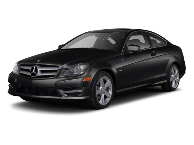 Magnetite Black Metallic 2012 Mercedes-Benz C-Class Pictures C-Class Coupe 2D C63 AMG photos front view