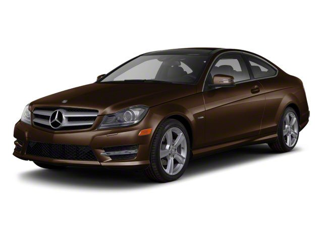 Cuprite Brown Metallic 2012 Mercedes-Benz C-Class Pictures C-Class Coupe 2D C63 AMG photos front view