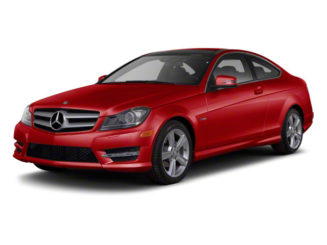 Mars Red 2012 Mercedes-Benz C-Class Pictures C-Class Coupe 2D C63 AMG photos front view
