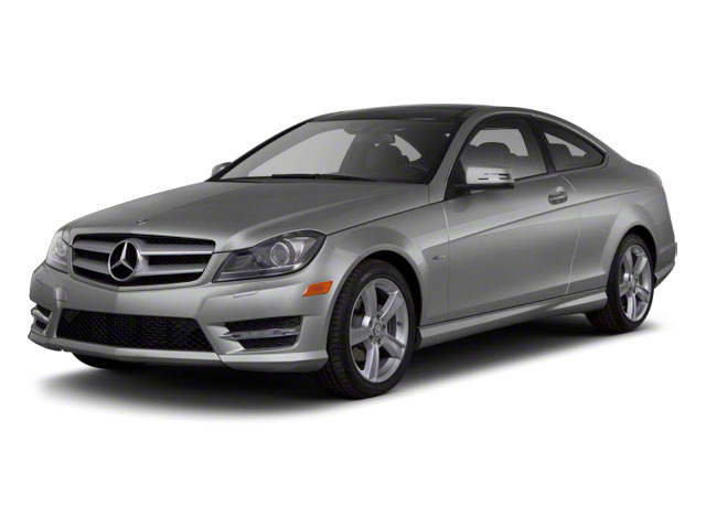 Steel Grey Metallic 2012 Mercedes-Benz C-Class Pictures C-Class Coupe 2D C63 AMG photos front view