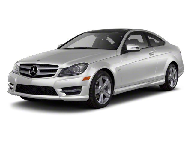 Iridium Silver Metallic 2012 Mercedes-Benz C-Class Pictures C-Class Coupe 2D C63 AMG photos front view